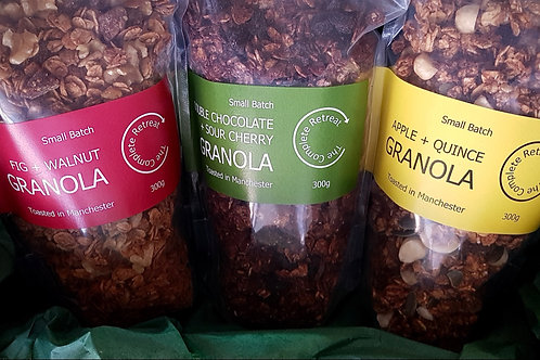 All Flavours Granola Triple Pack