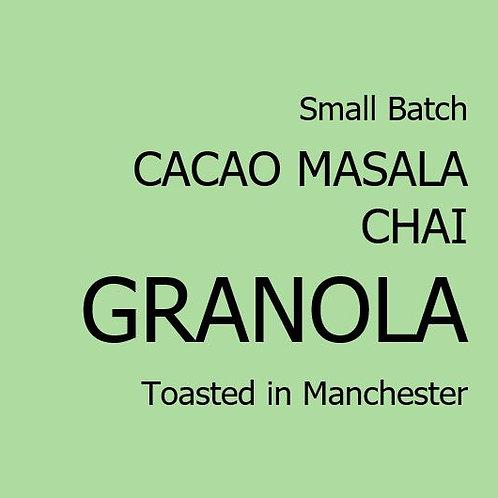 Cacao Masala Chai Granola