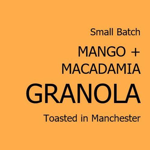 Mango + Macadamia Granola