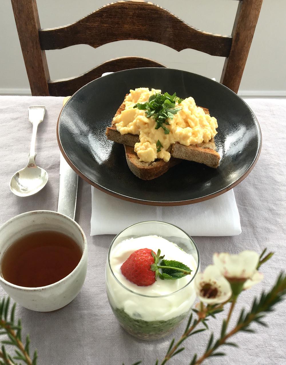 The Complete Retreat Wellbeing Retreat Breakfast