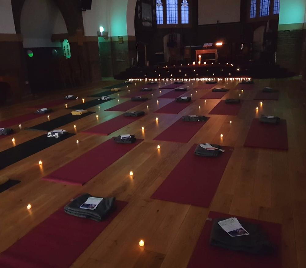 International Womens Day Yoga Supper Club Manchester