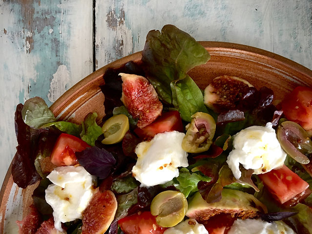 The Complete Retreat Fig Salad