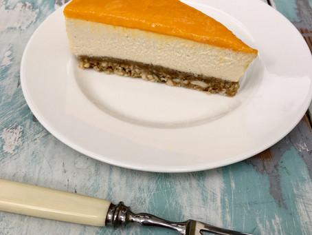 Alfonso Mango Vegan Cheesecake