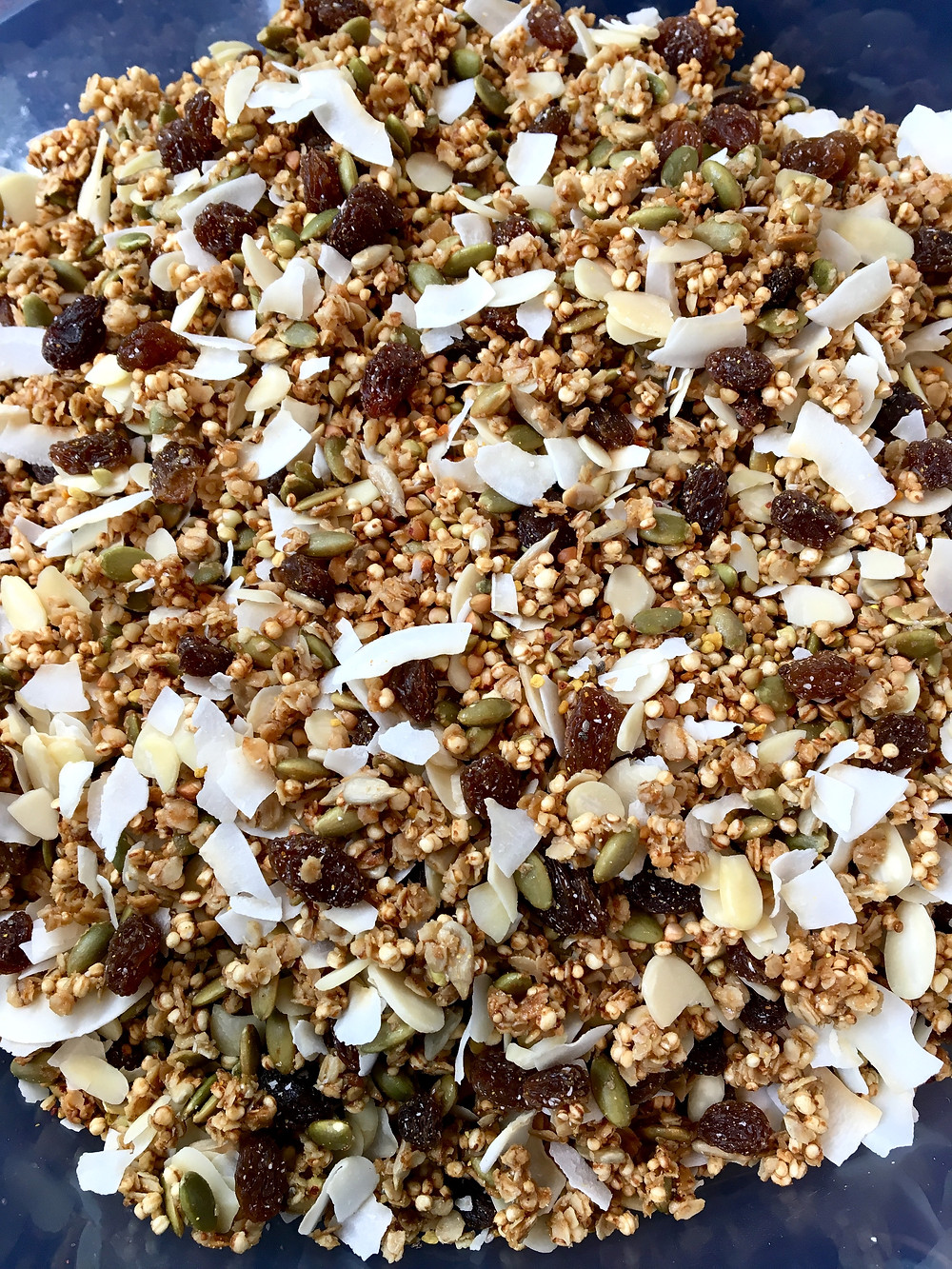 Gorgeious Granola Mix by The Complete Retreat for Yoga Retreat Lake District