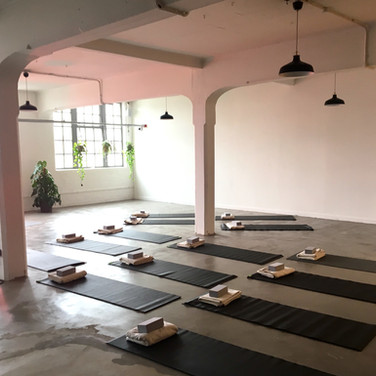Yoga Brunch Club at Space at The Mill, Manchester