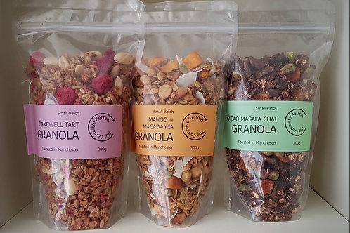 Spring Season Granola Triple Pack