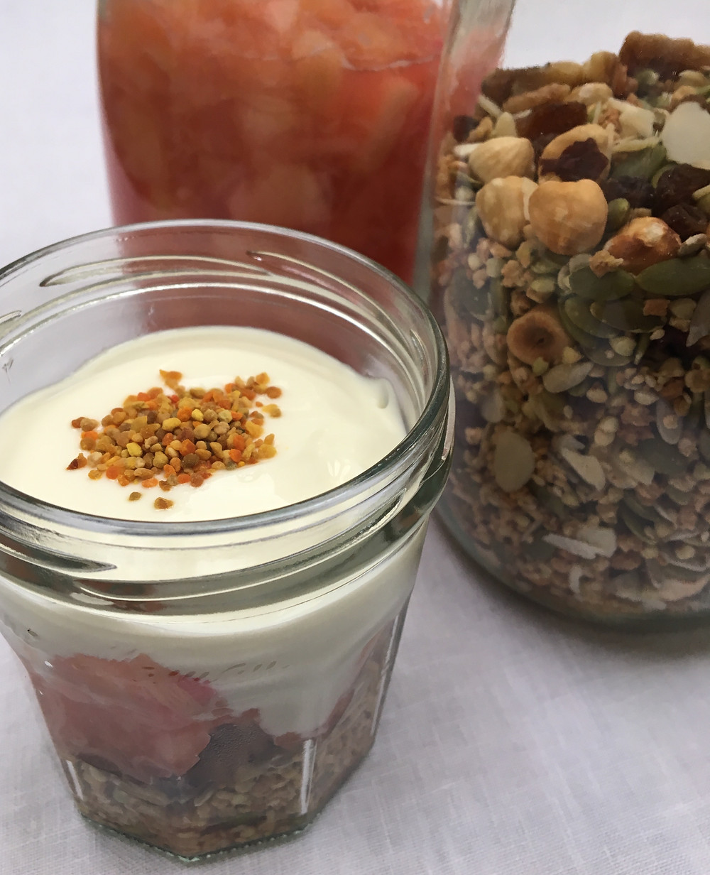 Breakfast Granola Pot by The Complete Retreat for Yoga Retreat Lake District