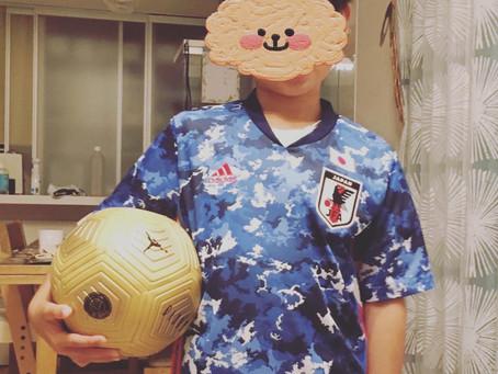 甥がサッカー少年になりまして②⚽️