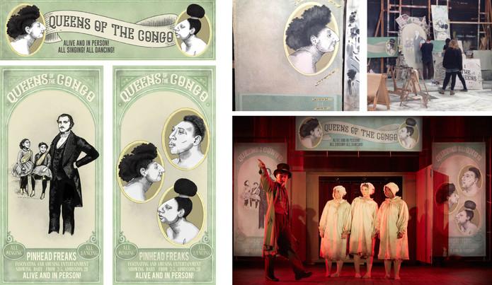 Freakshow Poster Designs