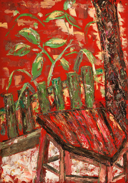 The red stool