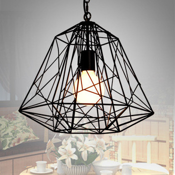 Diamond-cytoskeleton-tieyi-bird-cage-pendant-light-modern-project-light-balcony-