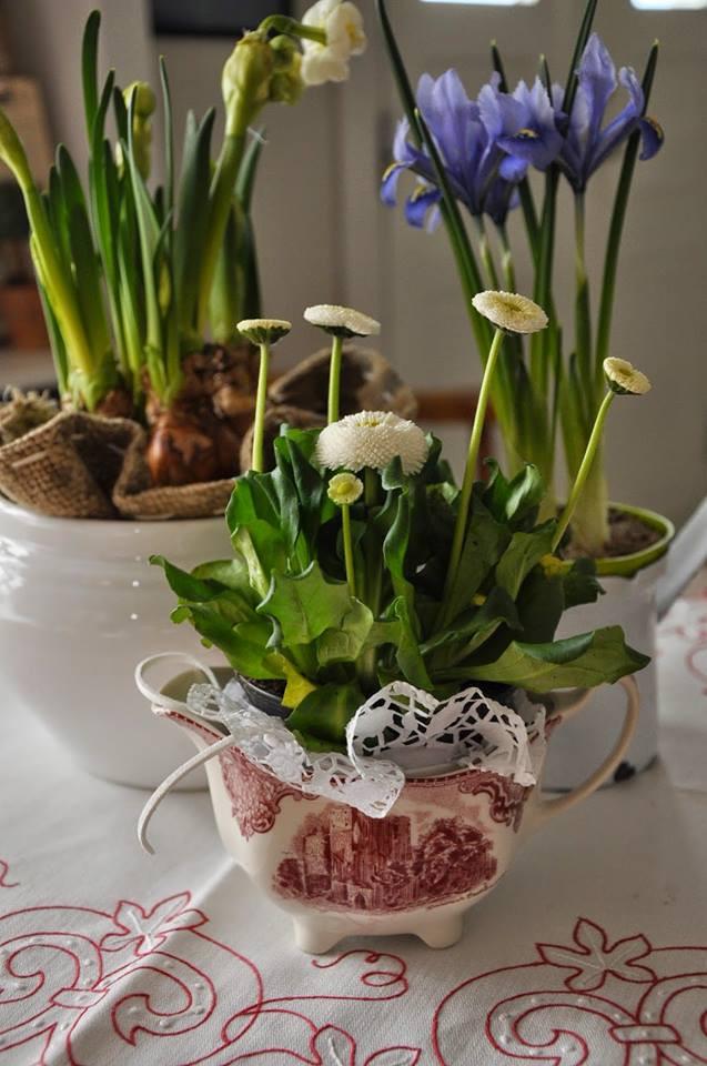 להכניס את הטבע הביתה, הפקעות מהגינה יכולות להכנס גם לכלי החרסינה העדינים שלנו...