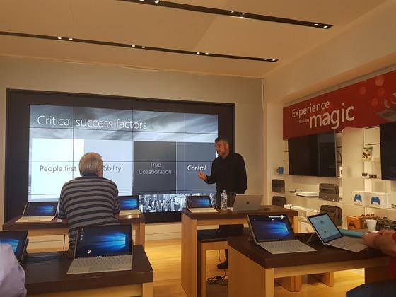 Live! Microsoft Store, Sydney