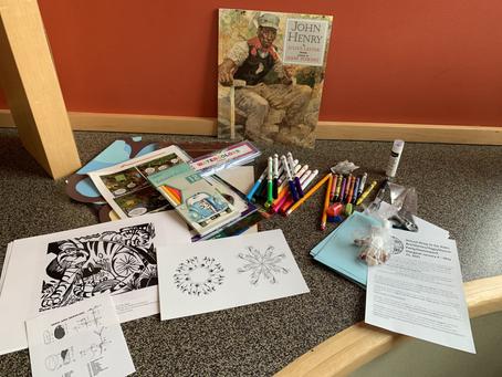 Service Highlight: Art Activity Packs for Children