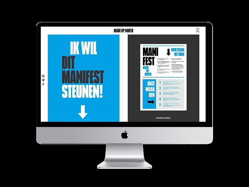Madeupnorth, amsterdam, webontwerp