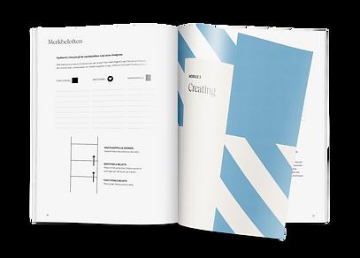 werkboek, Create your brand blueprint