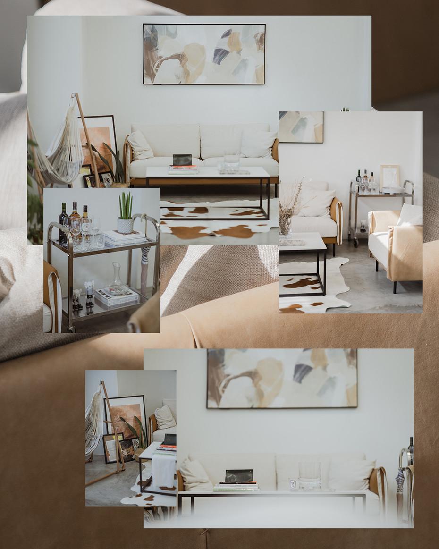 Contemporary Boho Lounge