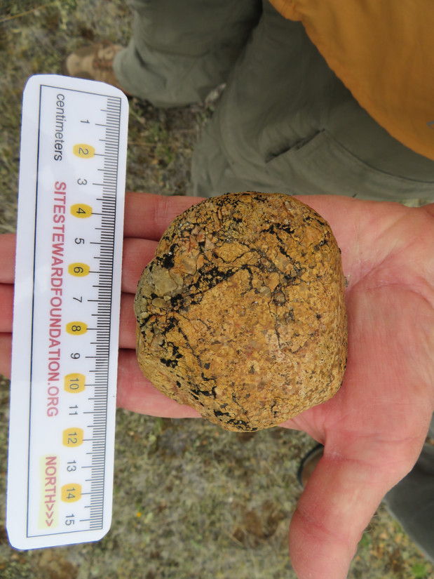 Prehistoric hammerstone