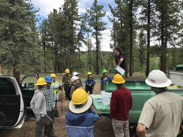 In 2019 the Site Stewards assisted the United States Forest Service in the Weston Pass Burn Area.  They worked to identify and remediate areas where erosion control was needed in order to prevent damage to archaeological sites.