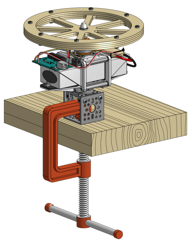 Reaction Wheel R&D Test Stand