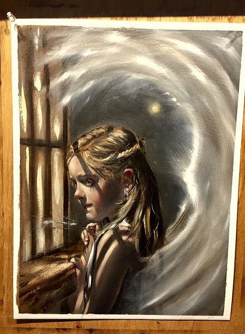 Stella 2017, Oil Painting by Scott Glazier