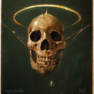 Skulll, Oil Painting by Scott Glazier