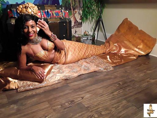 Mermaid Birthday Party with a real mermaid | Virtual Parties | Wilmington, North Carolina | NC