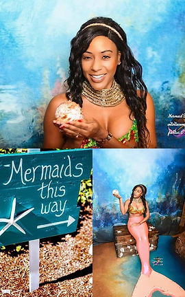 Mermaid Syrena entertainment for parties