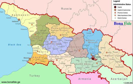 2019-11 Gruzie: Tbilisi, Kutaisi & Gori