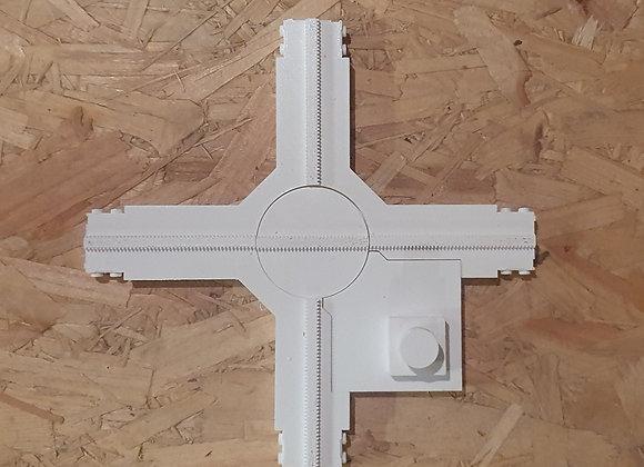 Croisement rotatif manuel Lego Monorail