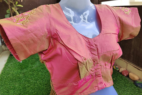 Double shaded Pink Designer Blouse