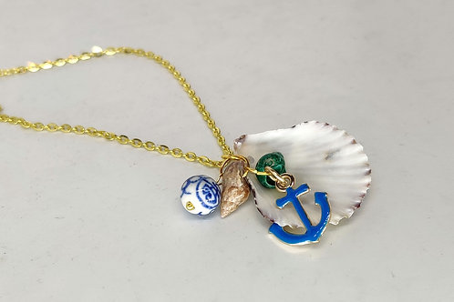 Ocean collection - pendant with charms