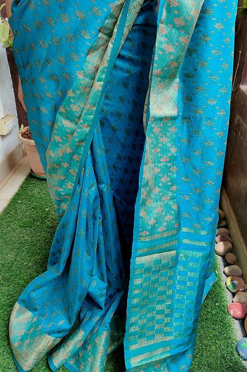Weaved Tussar Silk Saree