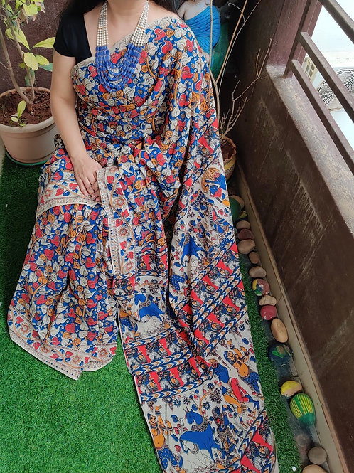 Kalamkari Cotton Sarees