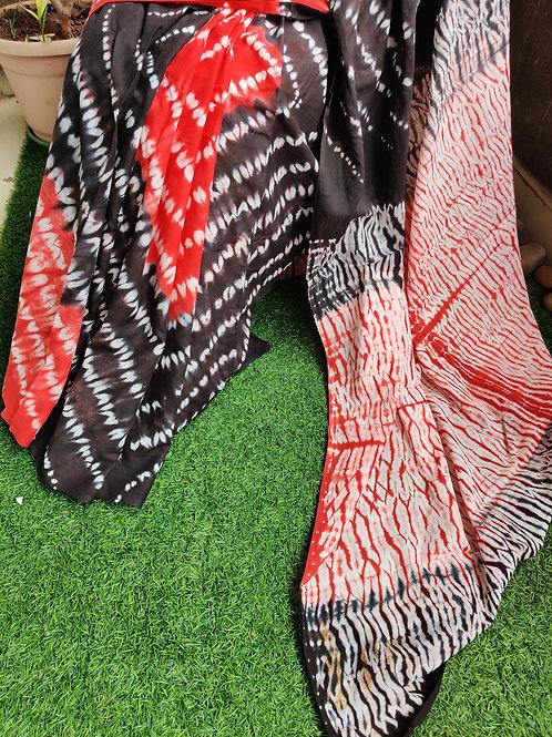 Batik Cotton Saree