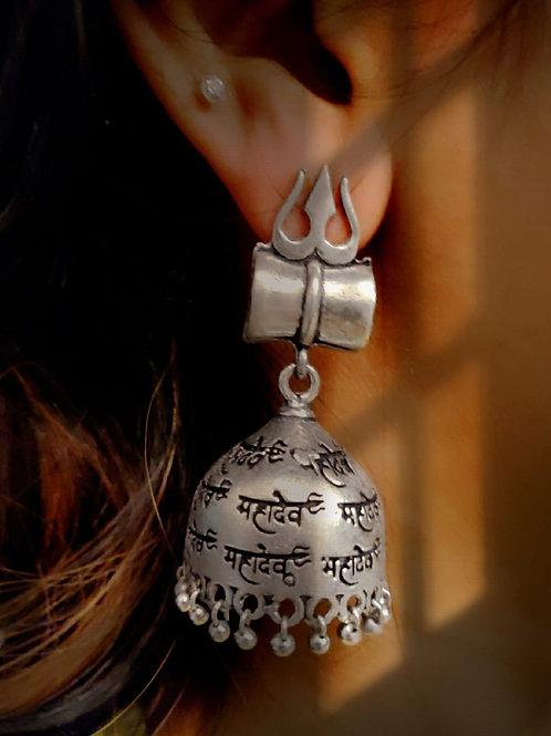 Shiva's Dumru Jhumkas