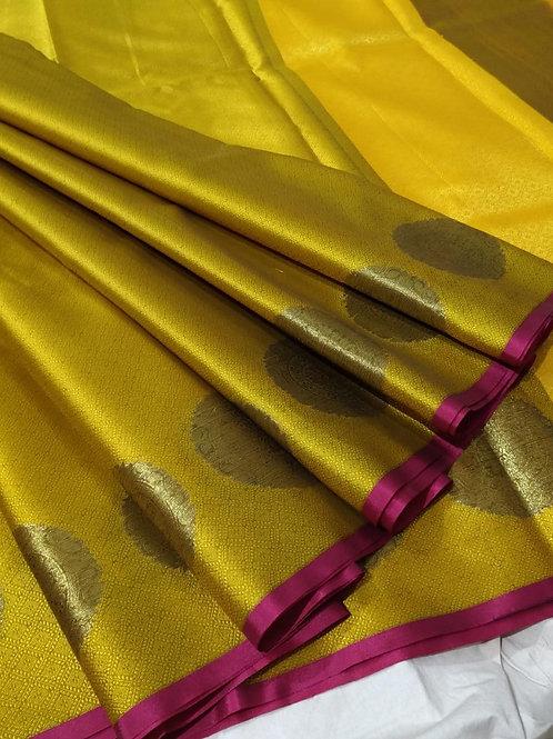Gorgeous Kora Silk with zari