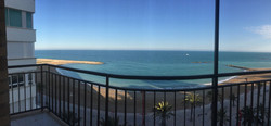 Terraza vistas al mar
