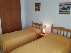 Habitación camas separadas