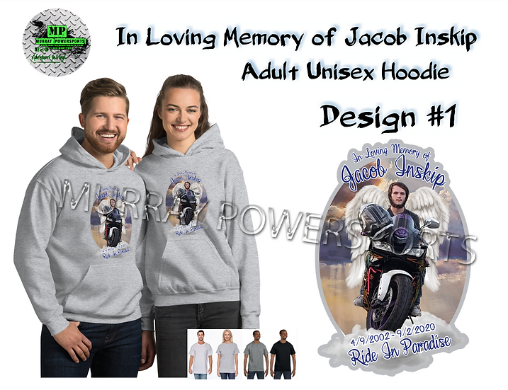 Jacob Inskip Memorial Adult Unisex Hoodie (design 1)