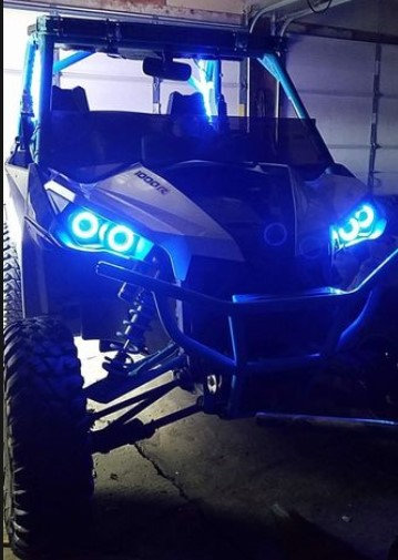 Can-Am Halos - Maverick, Commander, Renegade (+Options for Synced Rocklights)