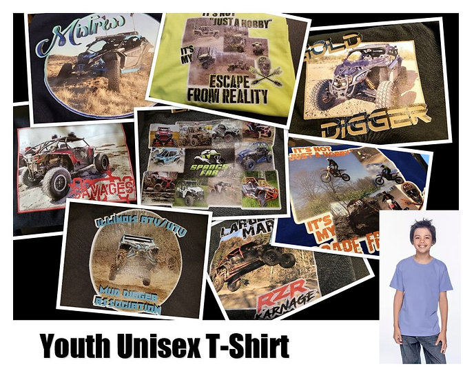 Customized Photo T-Shirt *Youth* - Show off your ride!