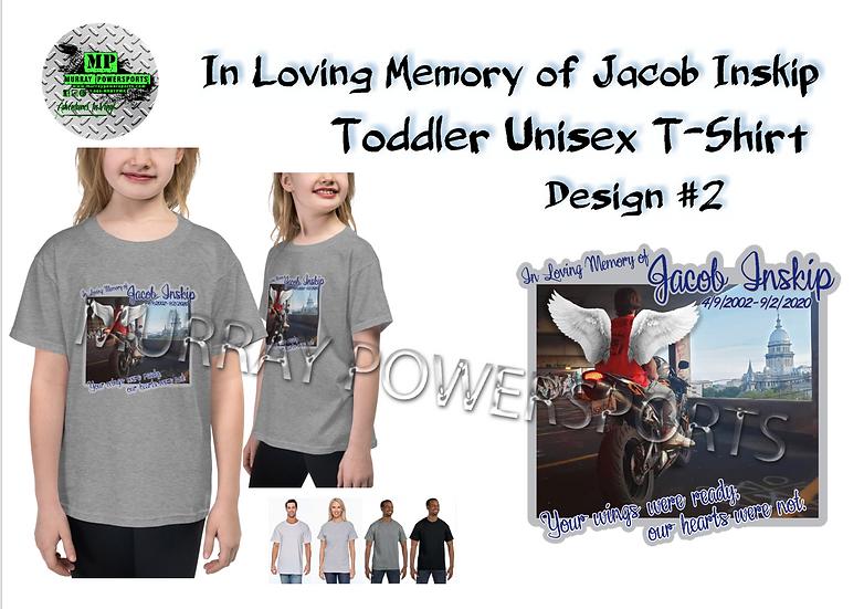 Jacob Inskip Memorial Toddler Unisex T-Shirt (design 2)