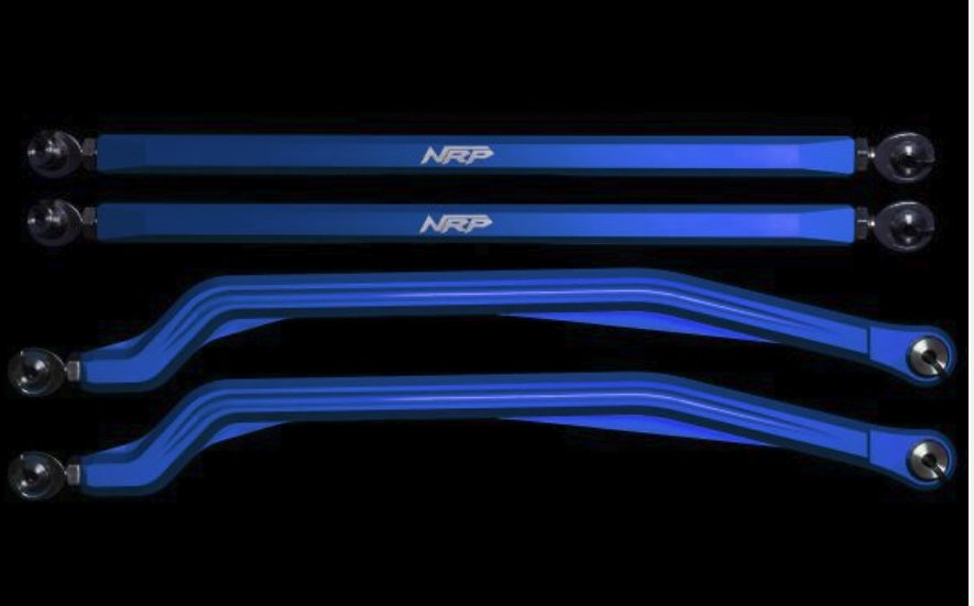 NRP RZR XP900 Billet High Clearance Radius Rods (color options)