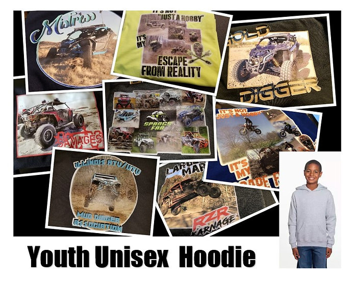 Customized Photo Hoodie *Youth* - Show off your ride!