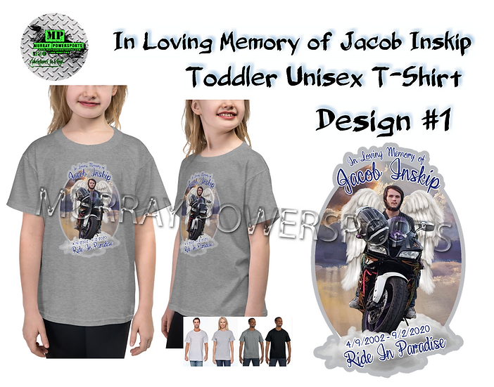 Jacob Inskip Memorial Toddler Unisex T-Shirt (design 1)