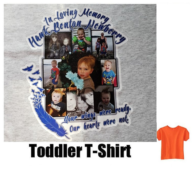 Hawk Newberry Memorial Photo T-Shirt *Toddler* #1  (color options)