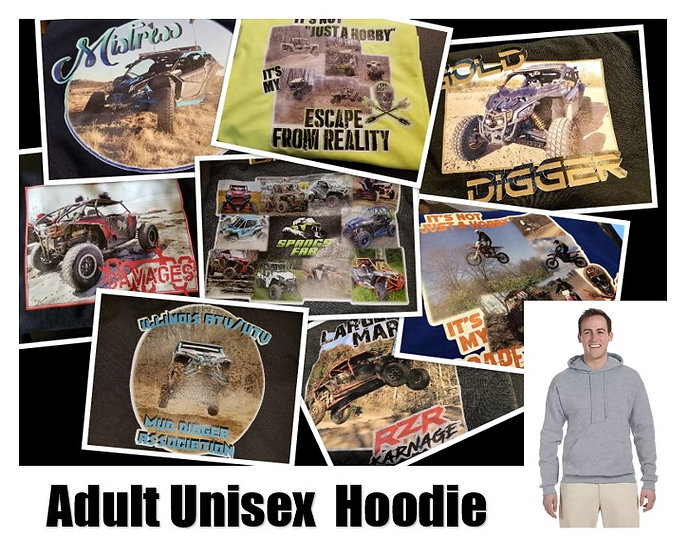 Customized Photo Hoodie *Adult* - Show off your ride!