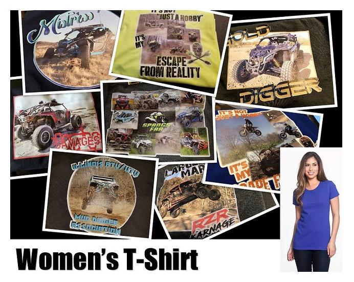 Customized Photo T-Shirt *Women* - Show off your ride!