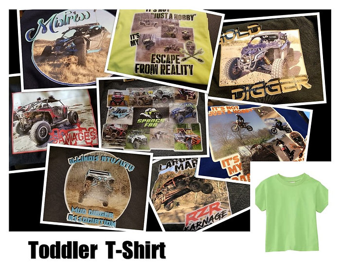 Customized Photo T-shirt *Toddler* - Show off your ride!